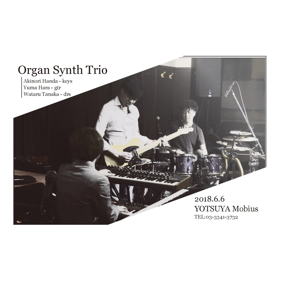 Organ Synth Trio 2nd LIVE