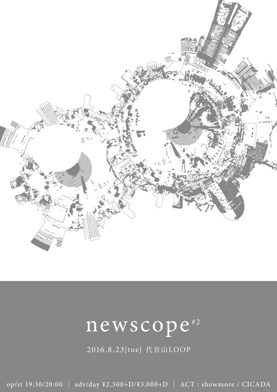 showmore presents 『newscope』 #2